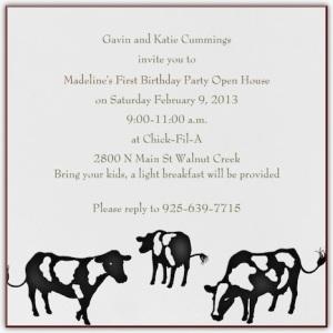 madeline's invite